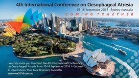 Internationaal congres over slokdarmatresie (Sydney- Austral ... Image 1